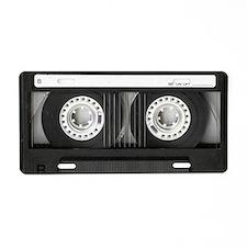Retro, Mixtape Aluminum License Plate