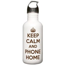Keep Calm and Phone Ho Water Bottle