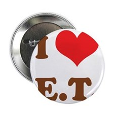 "I Love E.T. 2.25"" Button"