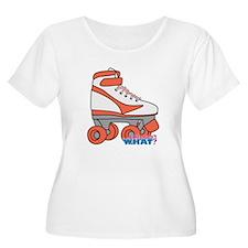 Roller Derby Skate Orange T-Shirt