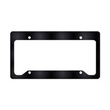 UnleashBlackDiamondWideWide License Plate Holder