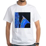 Saxophone Blues Art Shirt