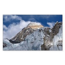 Mount Everest from part way up Decal