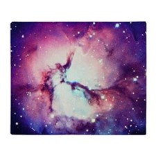 Trifid Nebula Throw Blanket