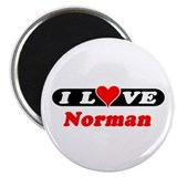 "I Love Norman 2.25"" Magnet (10 pack)"