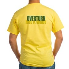 Yellow Overturn Roe T