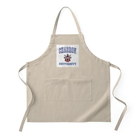 CHARRON University BBQ Apron