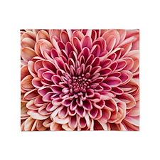 Close up of chrysanthemum. Throw Blanket