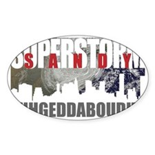 superstorm Sandy new york new jerse Decal