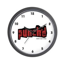 Punch'd Wall Clock