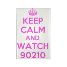 Keep Calm and Watch 90210 Rectangle Magnet