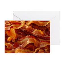 Mmm, Bacon Greeting Card