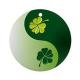 Ying Yang Irish! Ornament (Round)
