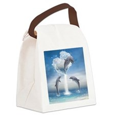 thotd_round_coaster Canvas Lunch Bag