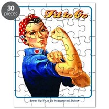 Fit to Go with Rose the Riveter Puzzle
