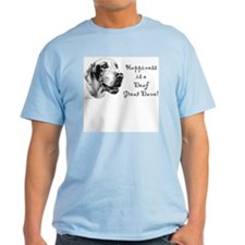 Happiness is a Deaf Dane T-Shirt