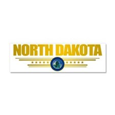 North Dakota Seal (F) Car Magnet 10 x 3
