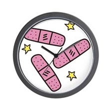 Band-Aids Wall Clock