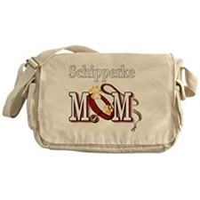 Schipperke Mom Messenger Bag