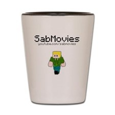 SabMovies Shot Glass