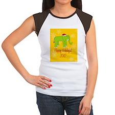 Elephant Happy Holidays Tee