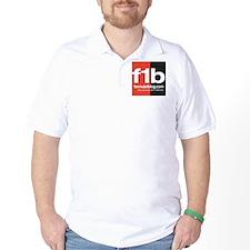 F1B Austin back T-Shirt