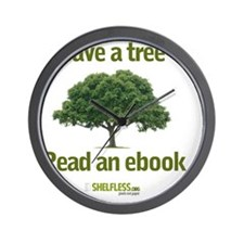 Save a Tree Wall Clock