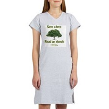 Save a Tree Women's Nightshirt