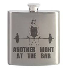 Another Night at the Bar Flask