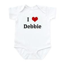 I Love Debbie Infant Bodysuit
