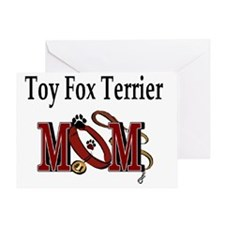 Toy Fox Terrier Mom Greeting Card