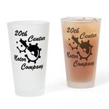 20th Century Motor Company Drinking Glass