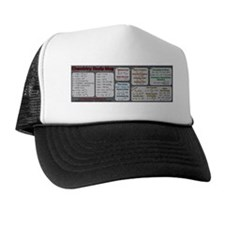 Chemistry Study Tables - Dark Trucker Hat
