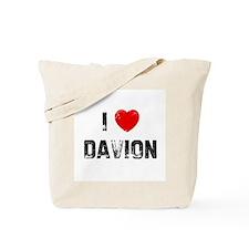 I * Davion Tote Bag