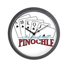 Pinochle Cards Wall Clock