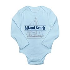 Miami Beach - Long Sleeve Infant Bodysuit