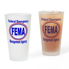 FEMA Drinking Glass