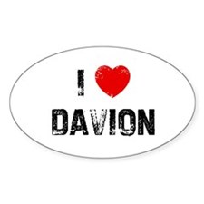 I * Davion Oval Decal