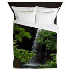 Waterfall Bliss Queen Duvet