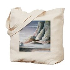 Southwestern Mountains with Pueblo Tote Bag