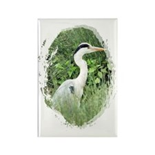 Heron6 Rectangle Magnet