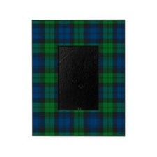 Black Watch Tartan Plaid Picture Frame