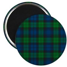 Black Watch Tartan Plaid Magnet