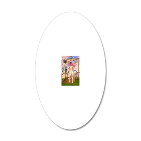 od_aluminium_photo_keychain 20x12 Oval Wall Decal