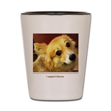 Rock Creek Novelties - I Support Rescue Shot Glass
