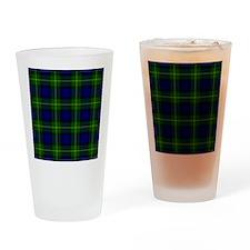 Gordon Scottish Tartan Drinking Glass