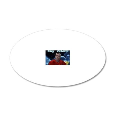 Gary DaBaum! 20x12 Oval Wall Decal