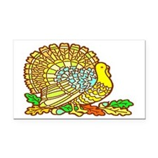 Turkey Rectangle Car Magnet