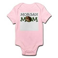 Morgan Mom. Horse Breed. Infant Bodysuit