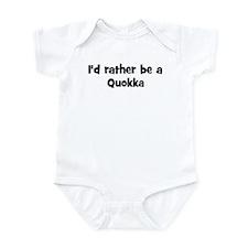 Rather be a Quokka Infant Bodysuit
